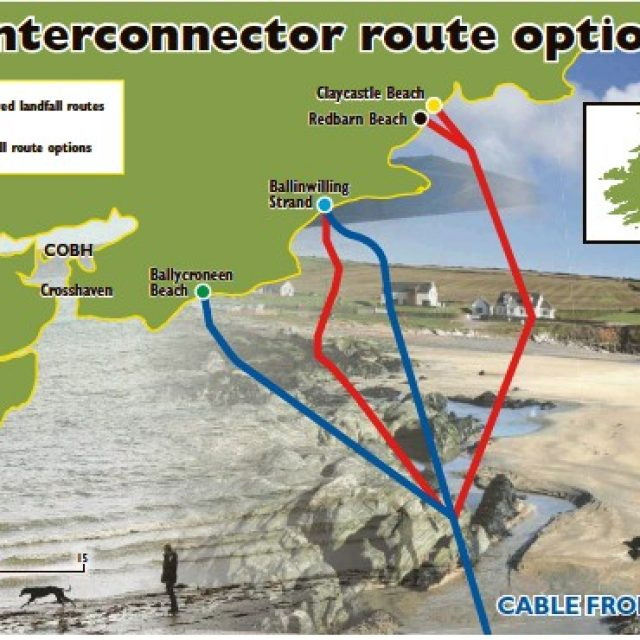 Celtic Interconnector reaches landfall in Youghal