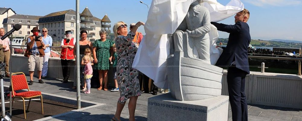 New Statue of Captain Ahab Unveiled