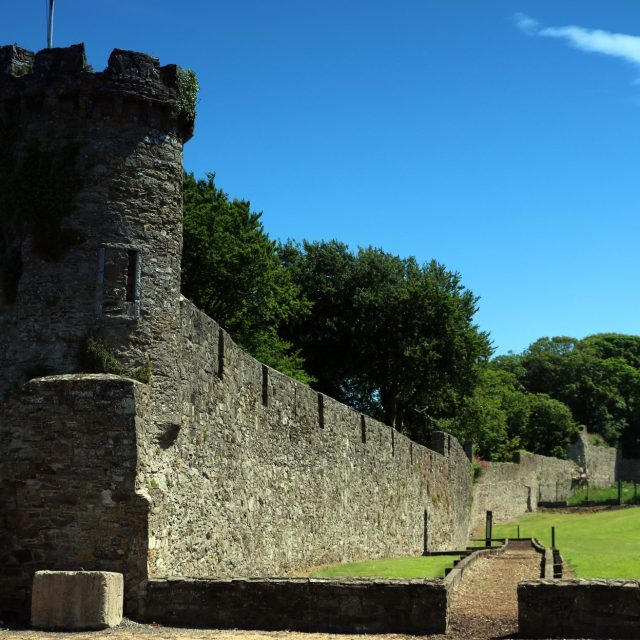 Town Wall Receives Funding for Repairs